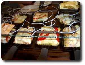 Raclette Zutaten Ideen