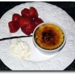 creme brulee angerichtet