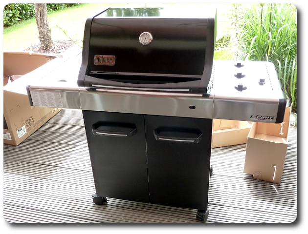 Weber Grill Spirit E