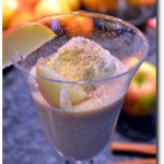 Bratapfel Smoothie Dessert