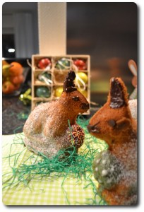 Osterhase backen