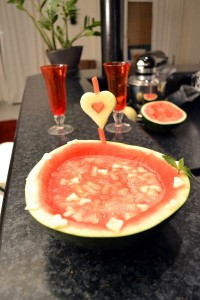 Melonen Bowle
