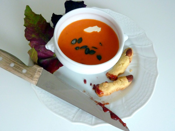 Krbissuppe Halloween