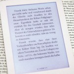 eBook Reader Schrift