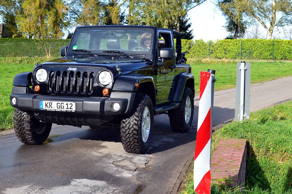 Jeep Wrangler Softtop Offen