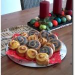 Pudding- und Mohnschnecken Rezept