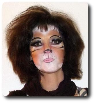 Katze schminken