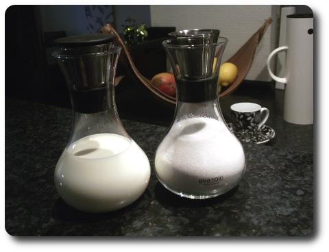 Milch und Zucker Set Dekorativ von Eva Solo