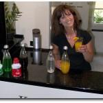 Trinkwassersprudler SodaStream Crystal und Sirup