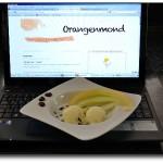 Eis Blogparade Honigmelone
