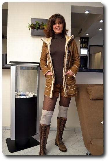 Overknee Strümpfe outfit