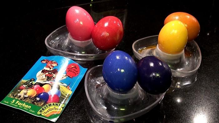 Eier färben