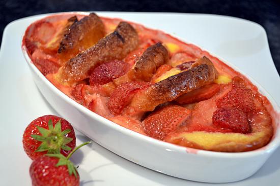 Erdbeer Auflauf