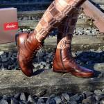 Semler Schuh Cognac Farbe
