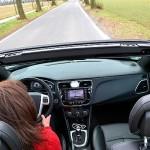Lancia Flavia Cabrio fahren