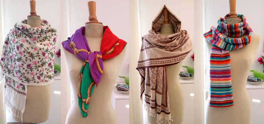 Unterschied Schals und Tücher