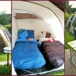 Camping im Luxus