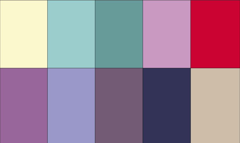 Sommertyp Farben