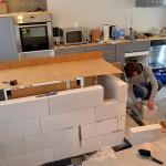Kochinsel selbst gebaut