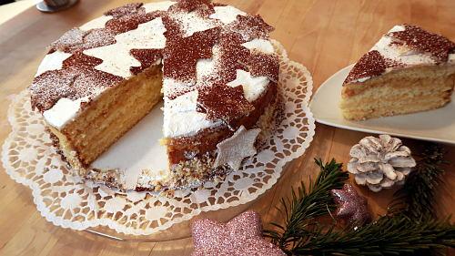 Weihnachtliche Torte Kuchen