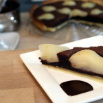Schokoladen-Birnen Tarte
